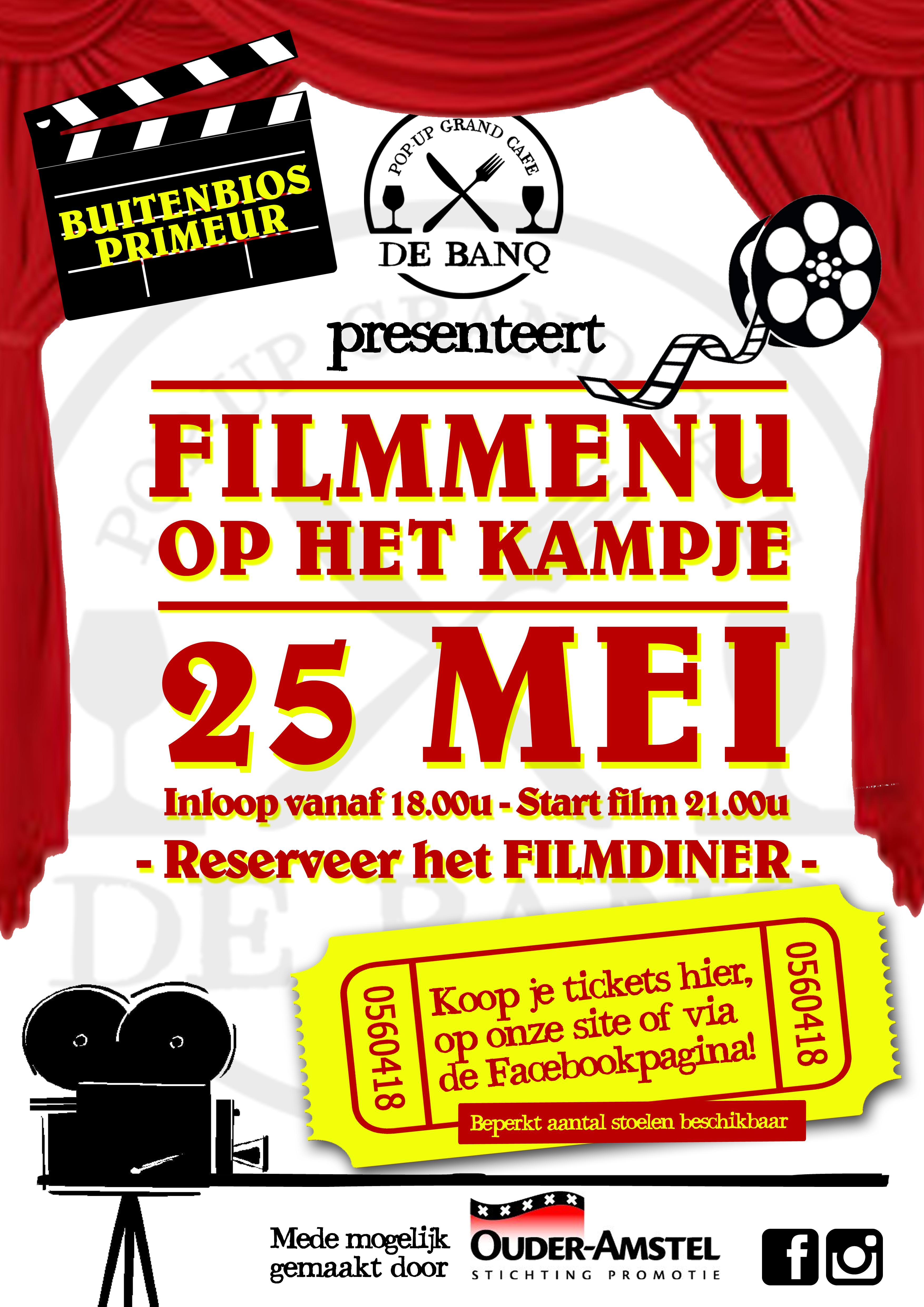 Poster-Filmmenu bij de BANQ (1)